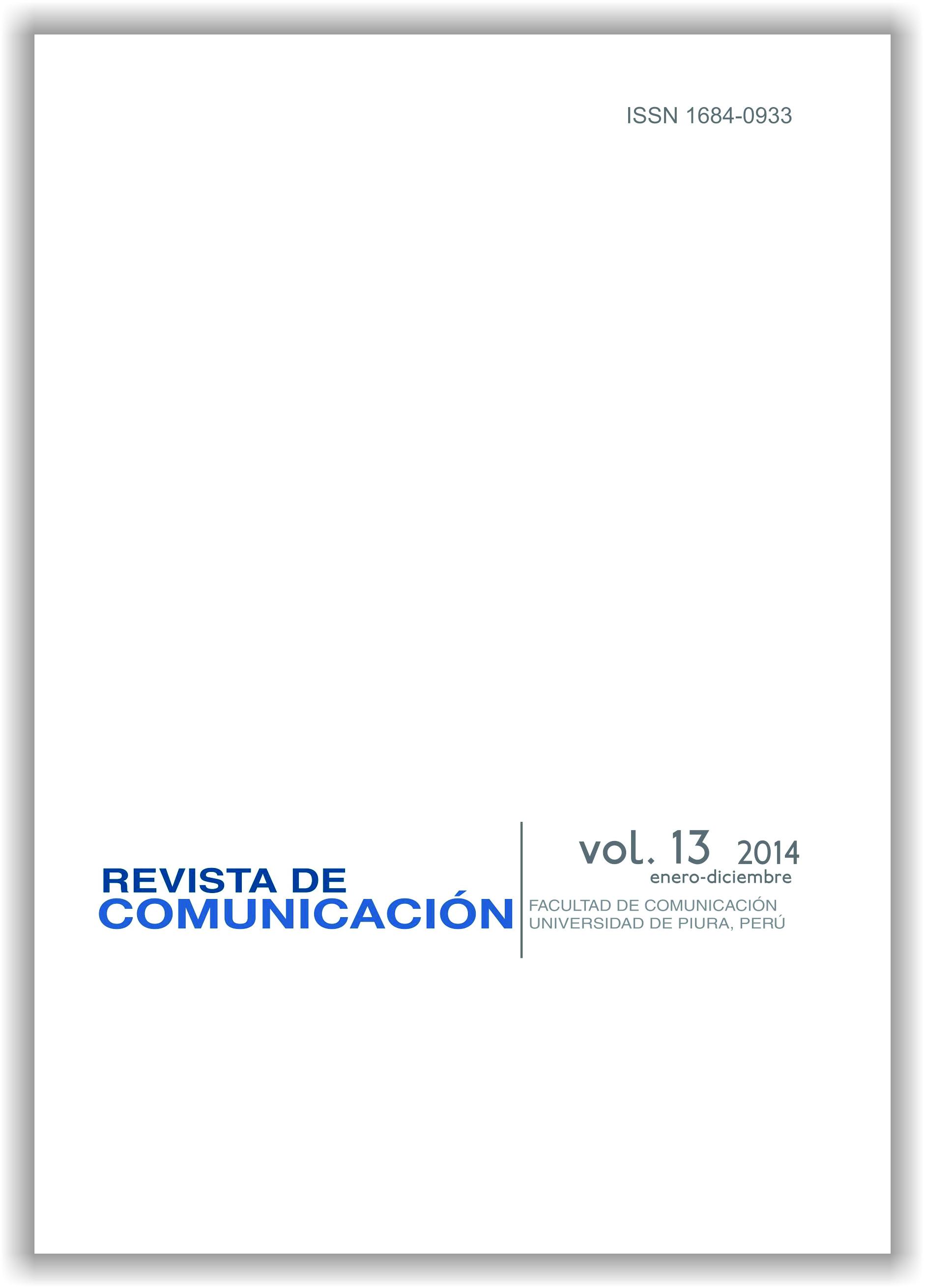 Números anteriores | Revista de Comunicación | Facultad de
